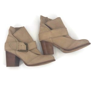Splendid Natural Tan Long Beach Booties Size 7